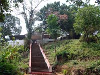 Kallil Temple, a 9th century Jain Temple is at Methala